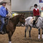 Regina Liberatore and Andy Kurtz at Rocky Mountain Horse Expo