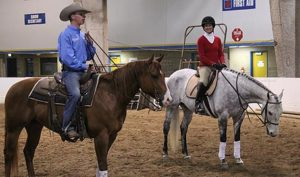 Regina Liberatore and Andy Kurtz at Rocky Mountain Horse Expo