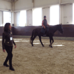 Regina Liberatore teaching Centered Riding in Japan