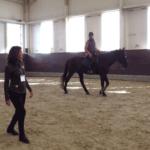 Regina Liberatore teaching Centered Riding in Japan